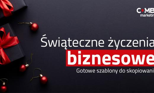 Świąteczne życzenia biznesowe – Boże Narodzenie